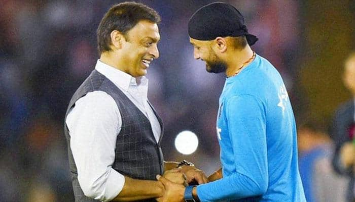 After many on-field tussles, Shoaib Akhtar and Harbhajan Singh to judge TV show together