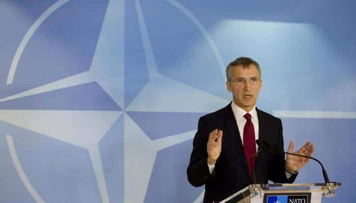 NATO chief says `we stand together` on Russia