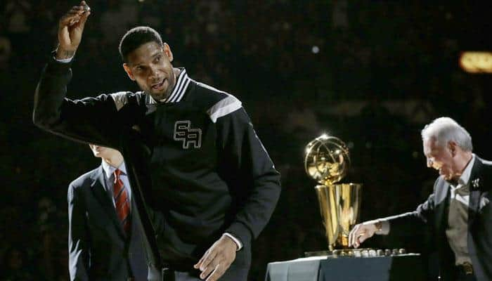Five-time NBA champ Tim Duncan retires after 19 seasons
