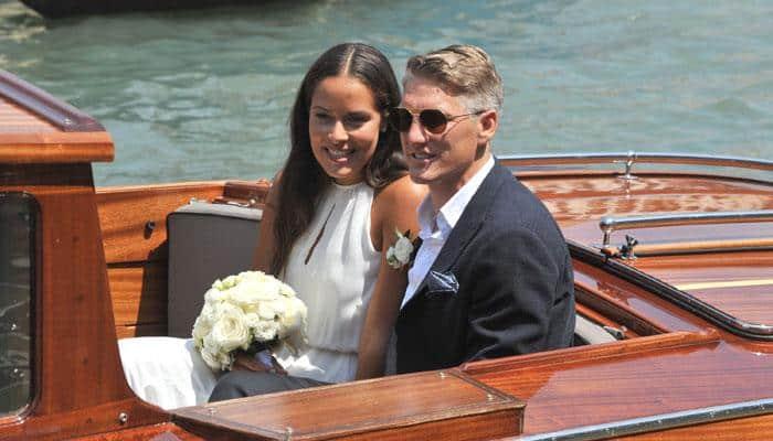 Sporting Couple: German football captain Bastian Schweinsteiger marries Tennis ace Ana Ivanovic