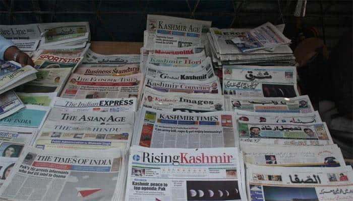 Editors Guild condemns 'muzzling' of media by J&K govt