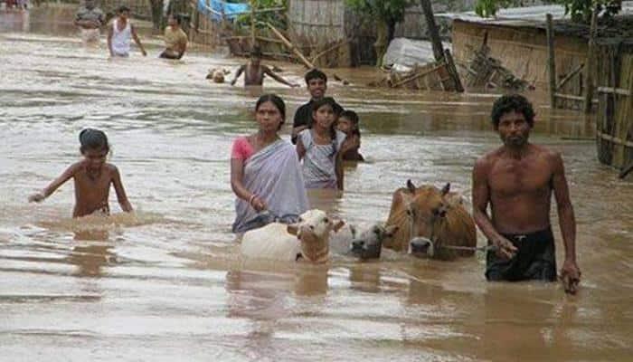 Floods batter Assam, Arunachal; 3 die in Uttarakhand wall collapse