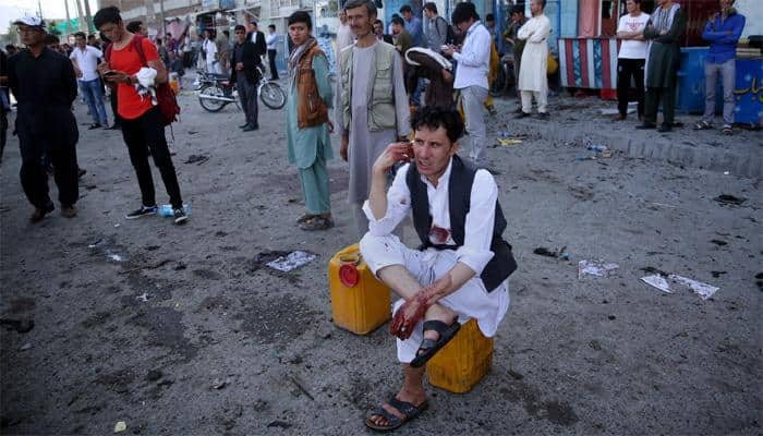 80 killed, over 200 injured in twin suicide bomb attacks on Kabul protesters; Islamic State claims responsibility