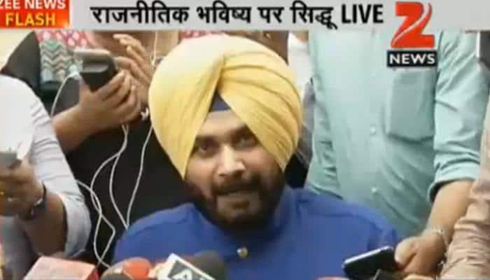 Navjot Singh Sidhu says he quit Rajya Sabha because he was told to stay away from Punjab