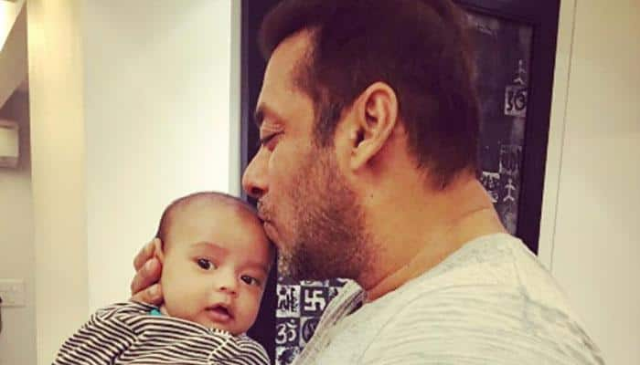 'Sultan' moment: Salman Khan, nephew Ahil clicked in wrestling mood