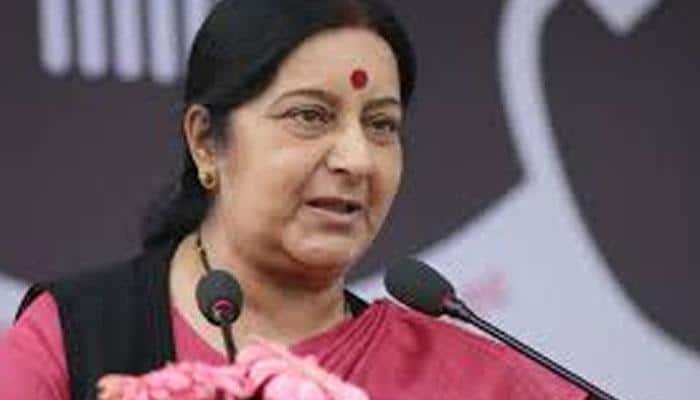 When Sushma Swaraj responded to a plea for help in chaste Haryanvi