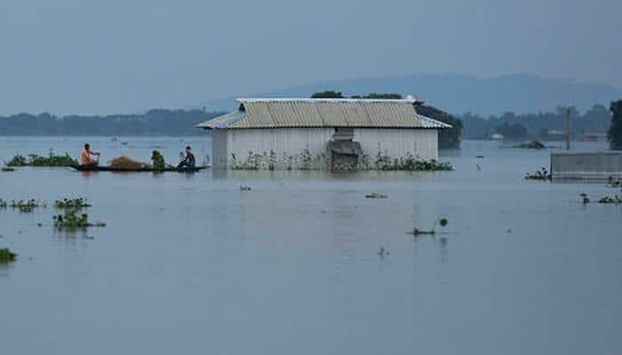 Rajnath Singh leaves for flood-stricken Assam