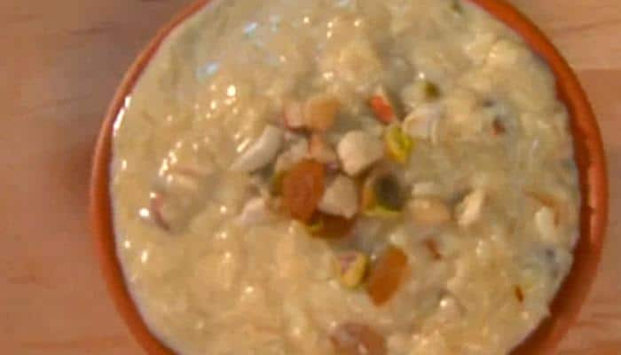 Sawan special recipe: Watch how to make instant kheer at home!