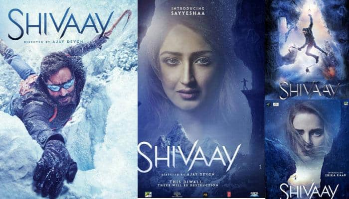Ajay Devgn strikes a lasting impression in new 'Shivaay' poster! SEE inside  | Movies News | Zee News