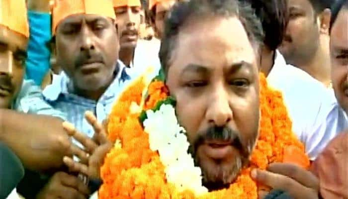 Expelled BJP leader Dayashankar Singh released from Mau jail, says 'will give fitting reply at right time'