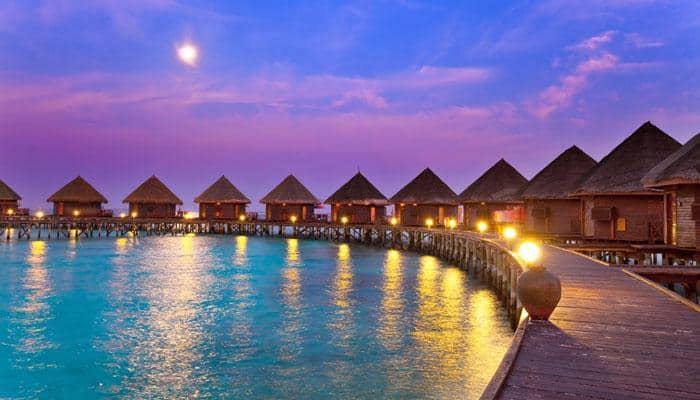 This Maldives Beach Glows Shimmers Naturally At Night