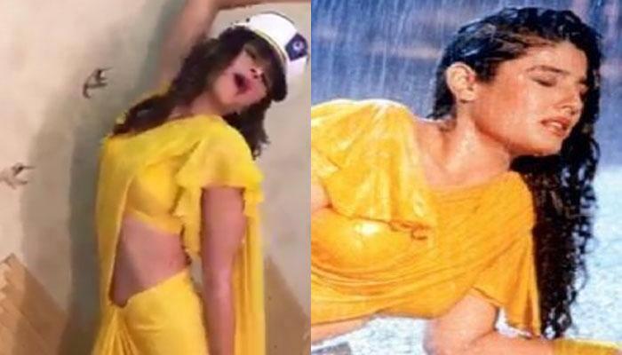 Alia Bhatt turns into ravishing Raveena Tandon for 'Rustom' Akshay Kumar – Watch video