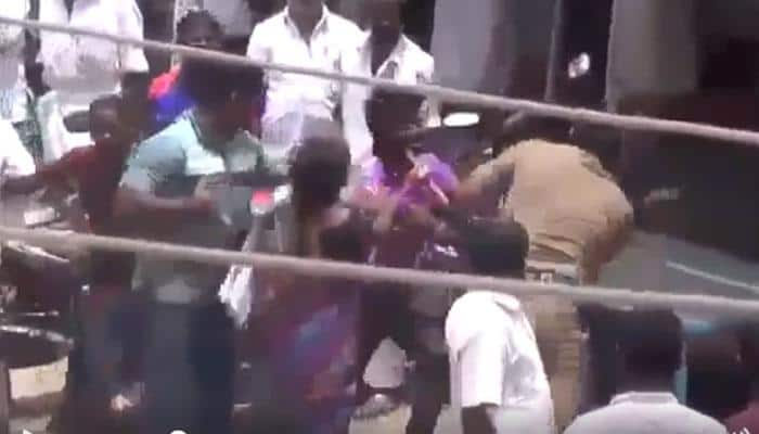 SHOCKING Tamil Nadu Police brutality! Cops raining blows on family members in full public view – WATCH Viral Video