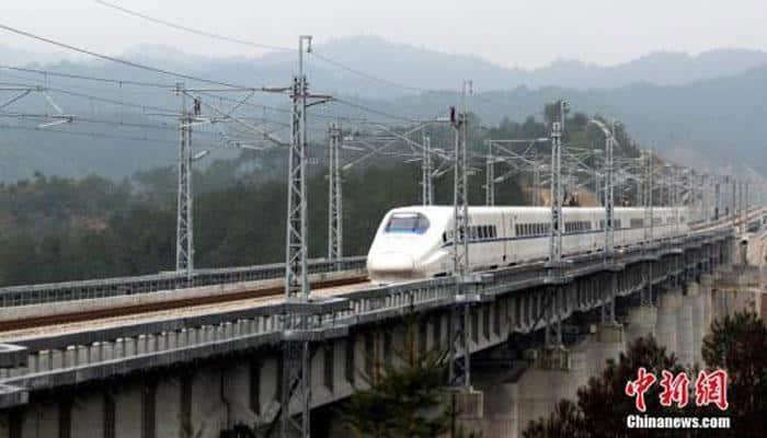 China begins operating bullet trains at 350 kmph speed
