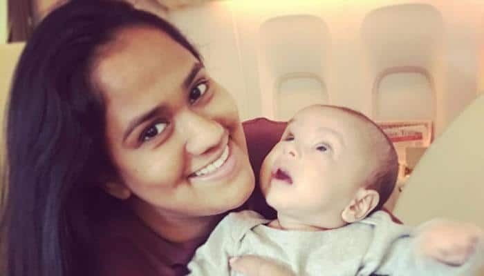 Cuteness alert! Mommy Arpita and daddy Aayush share priceless clicks of baby Ahil—Pics inside