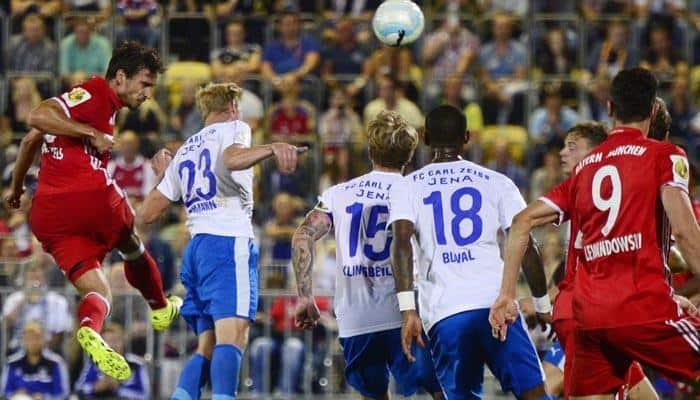 Bayern Munich beat Carl Zeiss Jena 5-0 in German Cup