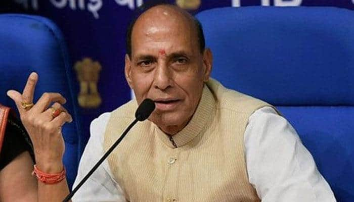 Kashmiri youths should have books in hands, and not stones: Rajnath