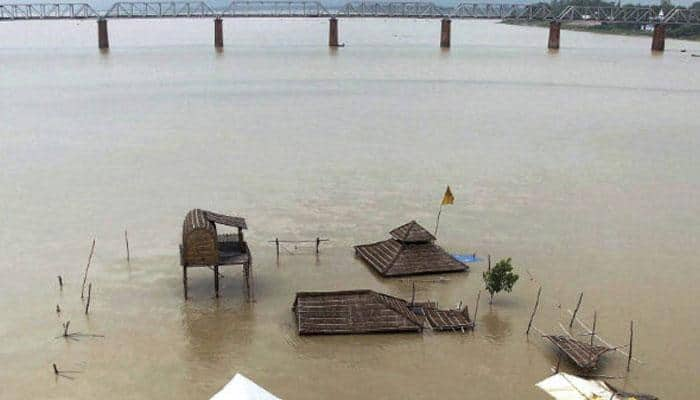 Flood situation remains grim in UP, MP and Bihar; Ganga flowing above danger mark