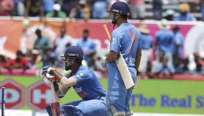 West Indies vs India, 1st T20I: MS Dhoni & Co fall short by one run in world record run chase