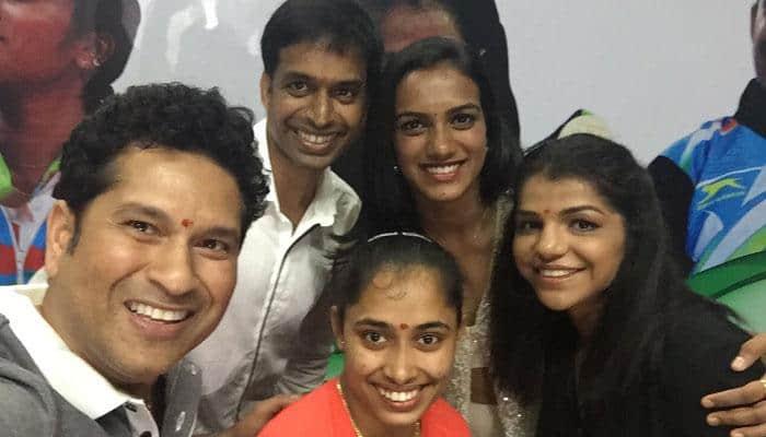WOW! Sachin Tendulkar fulfills promise; gifts BMWs to Sakshi, Dipa, Sindhu and Gopichand