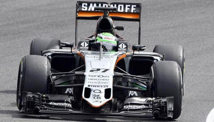 Force India move up to fourth after strong finish in Belgium