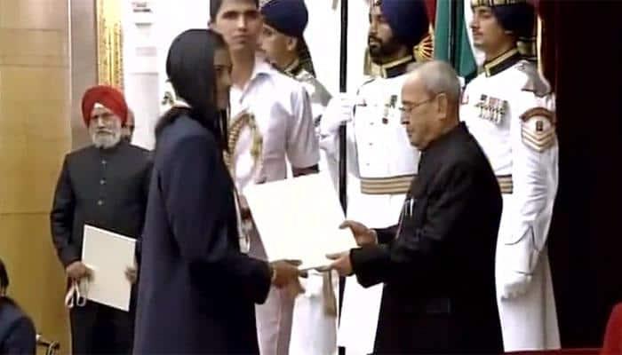 PV Sindhu, Sakshi Malik, Dipa Karmakar, Jitu Rai conferred with Khel Ratna award