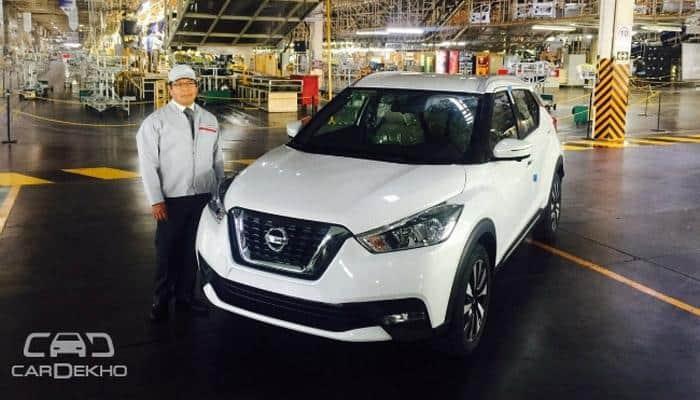 Nissan starts production of its new compact SUV Kicks