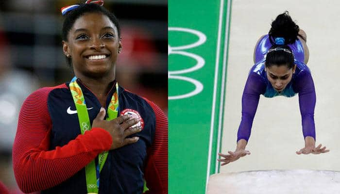 When Dipa Karmakar met Simone Biles: American gymnast wants Produnova to be renamed 'Karmakar vault'
