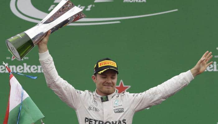 Italian Grand Prix: Nico Rosberg wins at Monza as Lewis Hamilton suffers at start