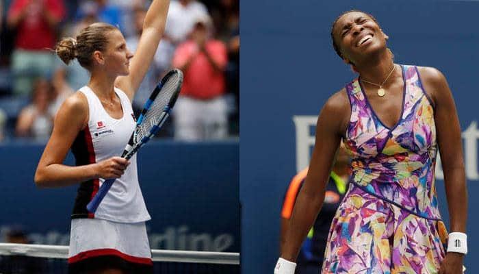US Open: No semi-final clash between Williams sisters as Karolina Pliskova ousts Venus in fourth round