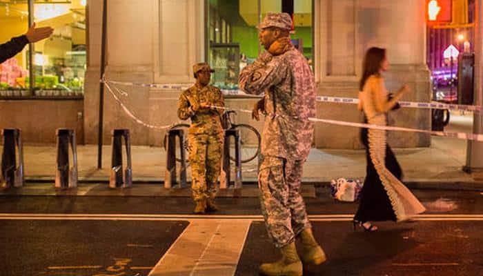 FBI detains five over New York bombing: Report