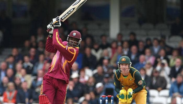 WATCH! When birthday boy Chris Gayle hit Brett Lee out of the ground – TWICE!