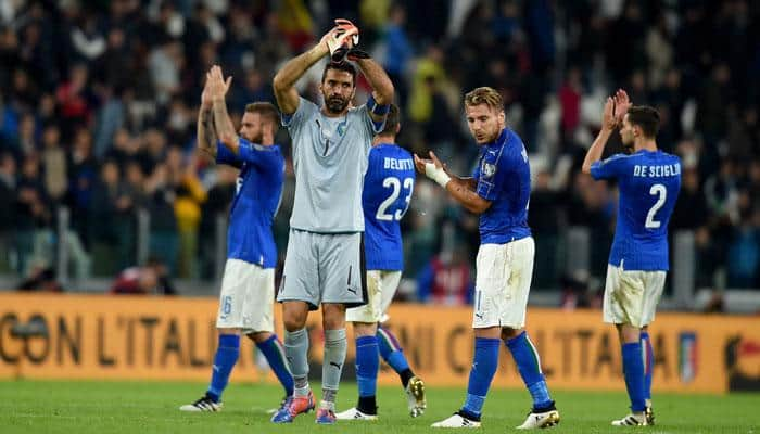 2018 World Cup Qualifiers: Late penalty spares Italy's blushes following Gigi Buffon howler gifted Spain opener