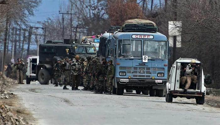 Pampore terror attack: Gun battle rages on