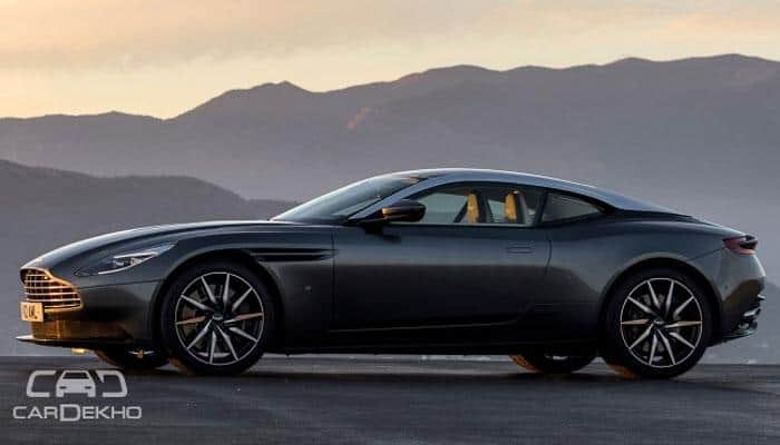 Aston Martin DB11 launched in India at Rs 3.97 crore