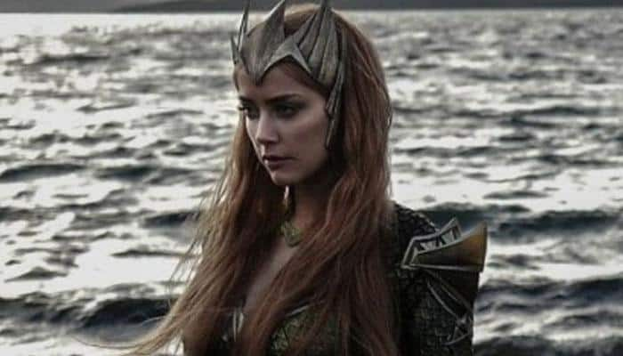 Amber Heard's first look as Mera in 'Justice League' out