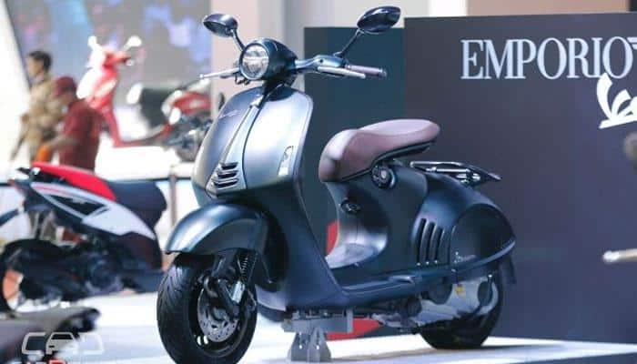 Vespa 946 Emporio Armani to be launched in India on October 25