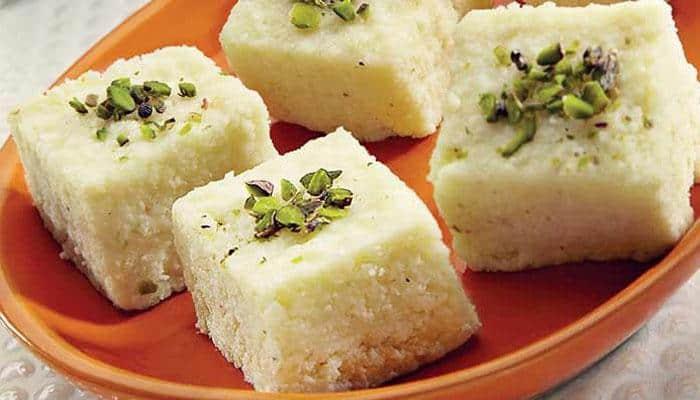 Diwali special recipe: Pista kalakand