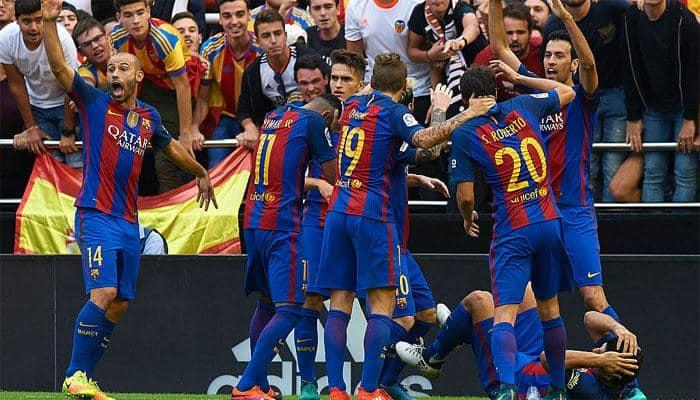 Barcelona call for disciplinary action against La Liga president