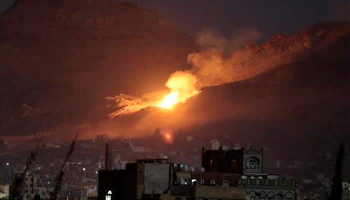 Saudi-led strikes on Yemen detention centre killed 60
