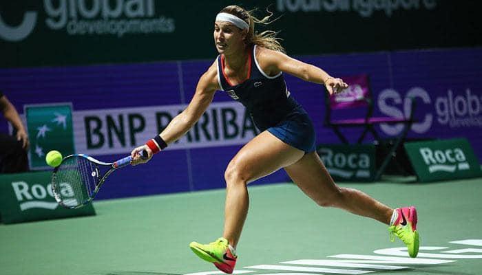 Dominika Cibulkova beats Angelique Kerber to win WTA Finals in Singapore