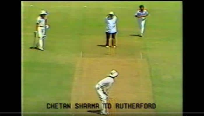 This day that year: Chetan Sharma became first bowler ever to claim a World Cup hat-trick