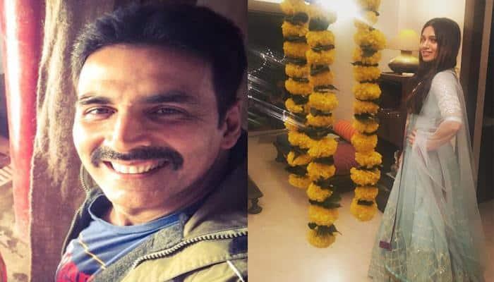 Akshay Kumar, Bhumi Pednekar begin their 'Toilet - Ek Prem Katha' journey!