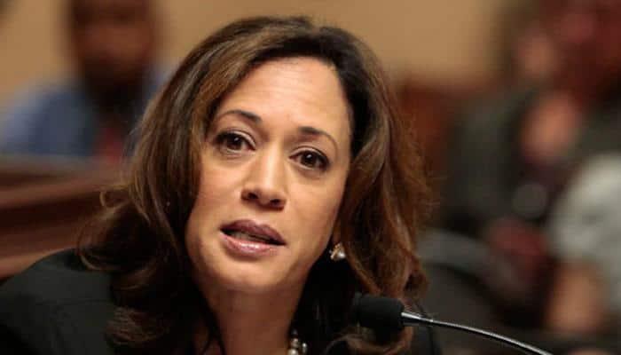Indian-American Kamala Harris creates history, wins US Senate seat