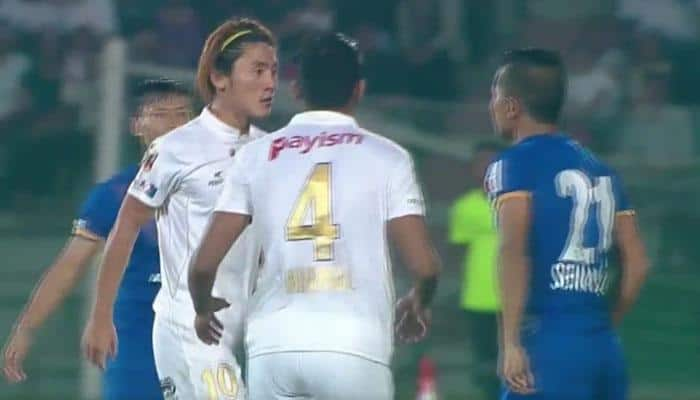 Video: When things turned ugly between NorthEast United and Mumbai City during ISL match