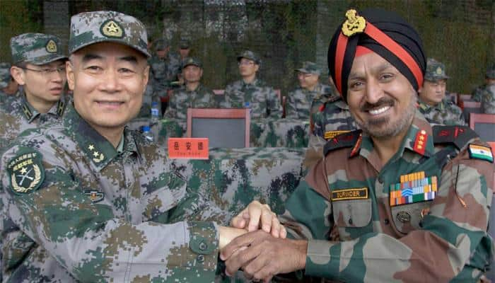 Pune to host India-China 'Hand-In-Hand 2016' joint training exercise