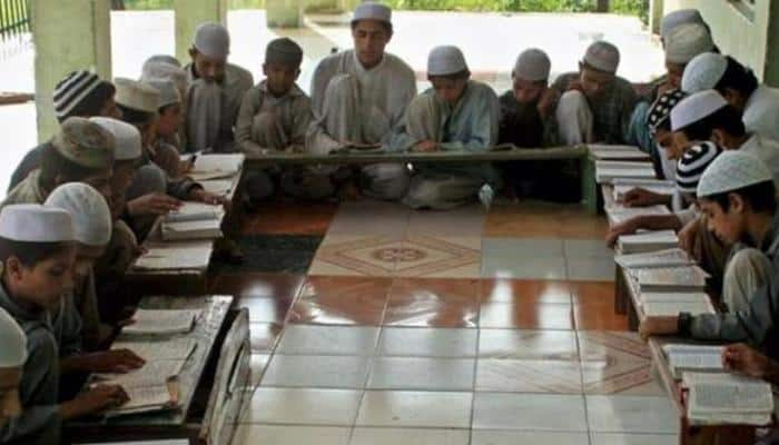 Madrassa teacher Nasreen Shamshi offering education to poor children of different communities for free