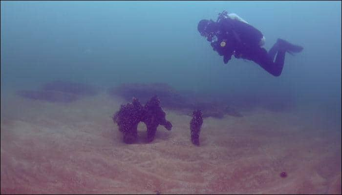 Ancient Stone Age lagoon discovered submerged underwater along Swedish coast! - Watch video