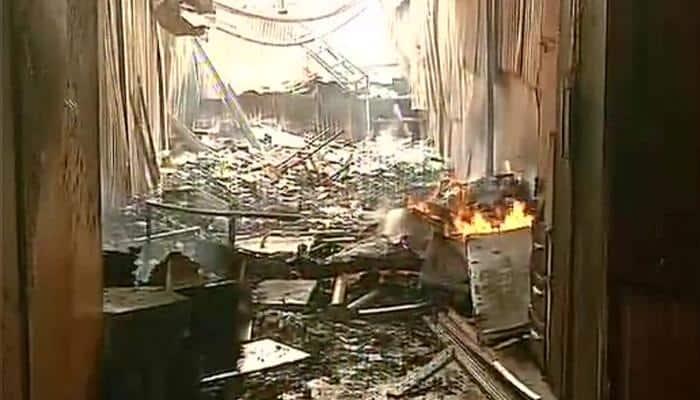 Fire at furniture market in Mumbai's Oshiwara, no casualties yet
