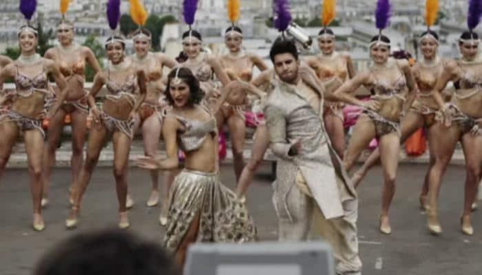 'Befikre' Ranveer Singh-Vaani Kapoor's Punjabi track 'Khulke Dulke' behind-the-scene action!